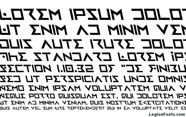 specimens Iron Cobra Leftalic font, sample Iron Cobra Leftalic font, an example of writing Iron Cobra Leftalic font, review Iron Cobra Leftalic font, preview Iron Cobra Leftalic font, Iron Cobra Leftalic font