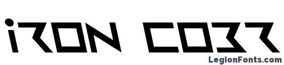 Iron Cobra Leftalic font, free Iron Cobra Leftalic font, preview Iron Cobra Leftalic font
