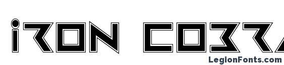 Шрифт Iron Cobra Pro
