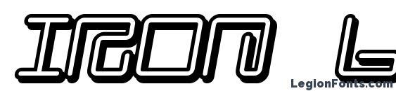 Iron Lounge Smart 2 Font