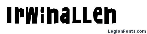 Irwinallen Font