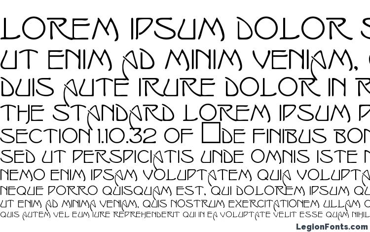 specimens Isadorac font, sample Isadorac font, an example of writing Isadorac font, review Isadorac font, preview Isadorac font, Isadorac font