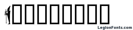 Isisdings Font