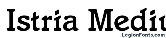Istria Medium Regular Font
