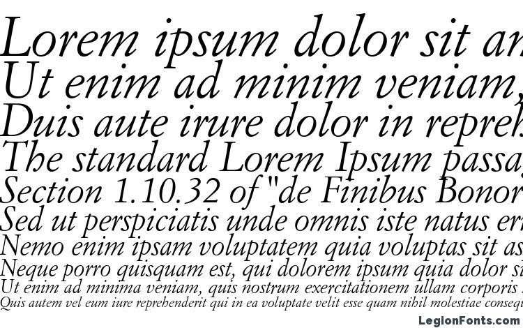 specimens Italian Garamond Italic BT font, sample Italian Garamond Italic BT font, an example of writing Italian Garamond Italic BT font, review Italian Garamond Italic BT font, preview Italian Garamond Italic BT font, Italian Garamond Italic BT font