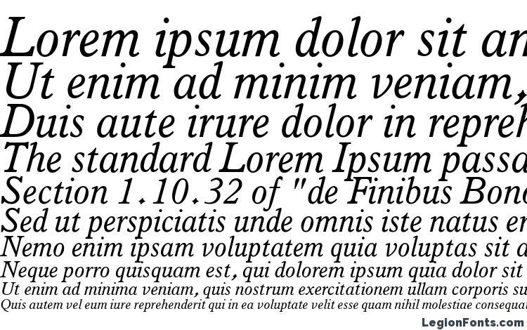 specimens Italian Old Style MT Italic font, sample Italian Old Style MT Italic font, an example of writing Italian Old Style MT Italic font, review Italian Old Style MT Italic font, preview Italian Old Style MT Italic font, Italian Old Style MT Italic font