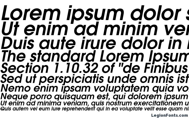 specimens ITC Avant Garde Gothic Demi Oblique font, sample ITC Avant Garde Gothic Demi Oblique font, an example of writing ITC Avant Garde Gothic Demi Oblique font, review ITC Avant Garde Gothic Demi Oblique font, preview ITC Avant Garde Gothic Demi Oblique font, ITC Avant Garde Gothic Demi Oblique font