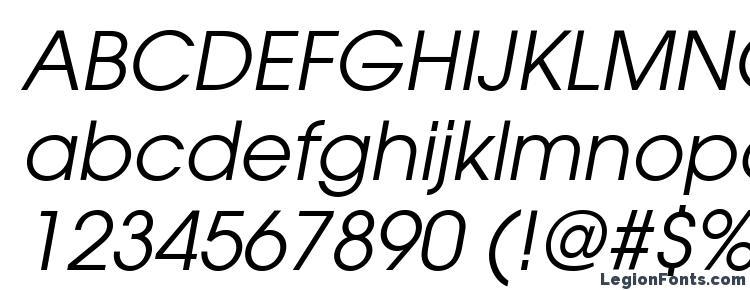 глифы шрифта ITC Avant Garde Gothic LT Book Oblique, символы шрифта ITC Avant Garde Gothic LT Book Oblique, символьная карта шрифта ITC Avant Garde Gothic LT Book Oblique, предварительный просмотр шрифта ITC Avant Garde Gothic LT Book Oblique, алфавит шрифта ITC Avant Garde Gothic LT Book Oblique, шрифт ITC Avant Garde Gothic LT Book Oblique