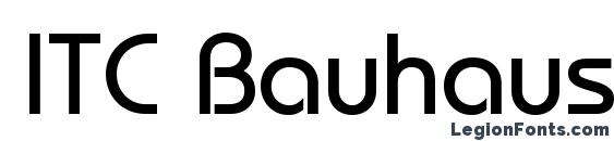 ITC Bauhaus LT Medium font, free ITC Bauhaus LT Medium font, preview ITC Bauhaus LT Medium font