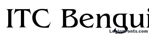 ITC Benguiat Book Font