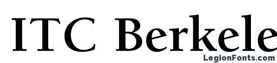 Berkeley Oldstyle Book Font