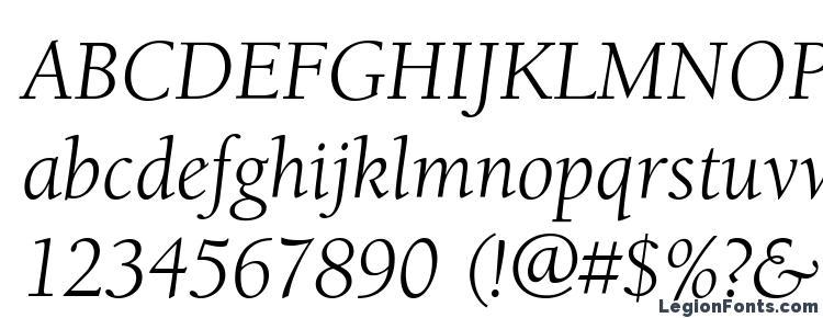 Book font oldstyle berkeley