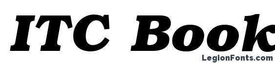 ITC Bookman LT Bold Italic Font