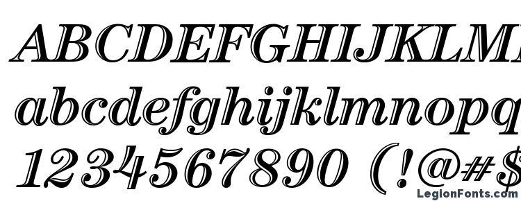 glyphs ITC Century LT Handtooled Bold Italic font, сharacters ITC Century LT Handtooled Bold Italic font, symbols ITC Century LT Handtooled Bold Italic font, character map ITC Century LT Handtooled Bold Italic font, preview ITC Century LT Handtooled Bold Italic font, abc ITC Century LT Handtooled Bold Italic font, ITC Century LT Handtooled Bold Italic font