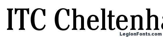 ITC Cheltenham LT Book Condensed Font