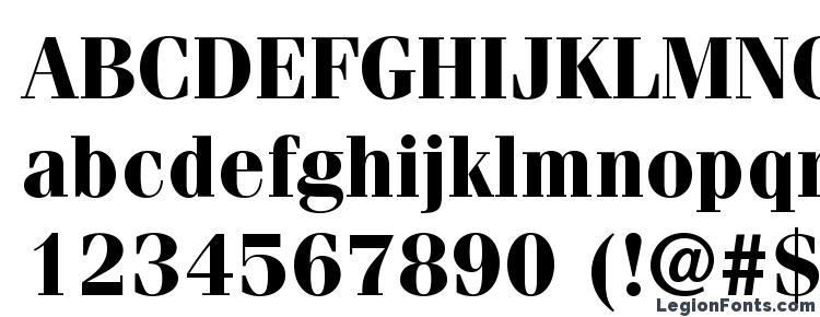 глифы шрифта ITC Fenice LT Bold, символы шрифта ITC Fenice LT Bold, символьная карта шрифта ITC Fenice LT Bold, предварительный просмотр шрифта ITC Fenice LT Bold, алфавит шрифта ITC Fenice LT Bold, шрифт ITC Fenice LT Bold
