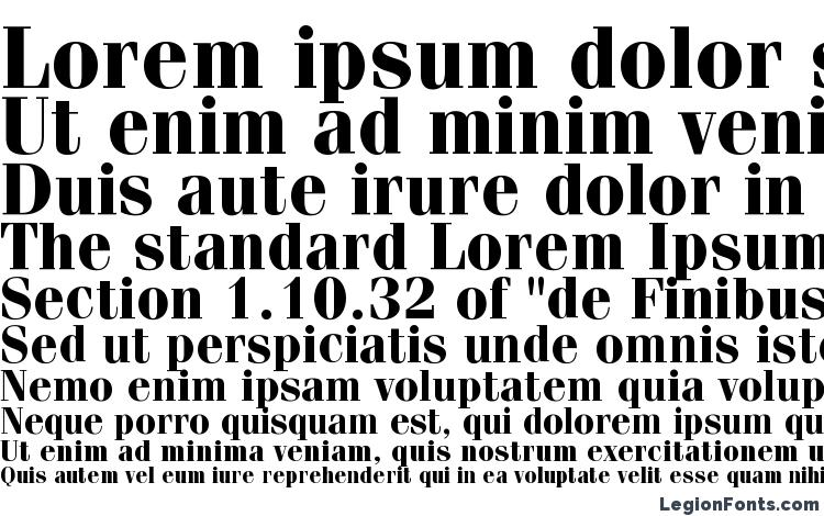 specimens ITC Fenice LT Bold font, sample ITC Fenice LT Bold font, an example of writing ITC Fenice LT Bold font, review ITC Fenice LT Bold font, preview ITC Fenice LT Bold font, ITC Fenice LT Bold font