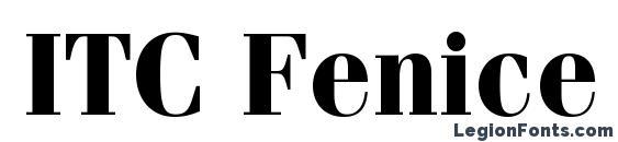 Шрифт ITC Fenice LT Bold