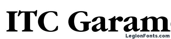 Шрифт ITC Garamond LT Bold