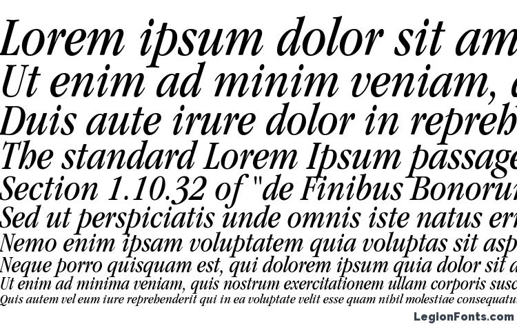 Itc Garamond Narrow Book Italic