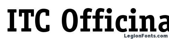 Шрифт ITC Officina Serif LT Bold