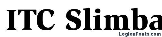 ITC Slimbach LT Black font, free ITC Slimbach LT Black font, preview ITC Slimbach LT Black font