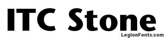 шрифт ITC Stone Sans LT Bold, бесплатный шрифт ITC Stone Sans LT Bold, предварительный просмотр шрифта ITC Stone Sans LT Bold