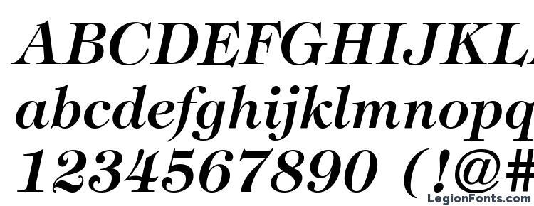 глифы шрифта ITC Tiffany LT Demi Italic, символы шрифта ITC Tiffany LT Demi Italic, символьная карта шрифта ITC Tiffany LT Demi Italic, предварительный просмотр шрифта ITC Tiffany LT Demi Italic, алфавит шрифта ITC Tiffany LT Demi Italic, шрифт ITC Tiffany LT Demi Italic