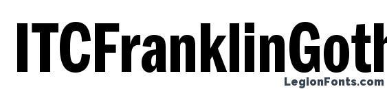 ITCFranklinGothicStd DmCp Font