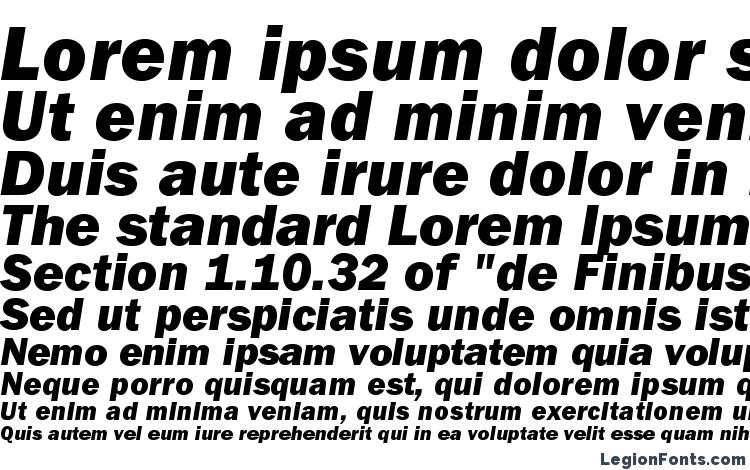 specimens ITCFranklinGothicStd HvyIt font, sample ITCFranklinGothicStd HvyIt font, an example of writing ITCFranklinGothicStd HvyIt font, review ITCFranklinGothicStd HvyIt font, preview ITCFranklinGothicStd HvyIt font, ITCFranklinGothicStd HvyIt font
