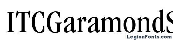ITCGaramondStd BkCond Font, Serif Fonts