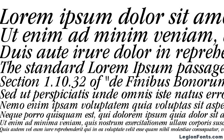 specimens ITCGaramondStd BkCondIta font, sample ITCGaramondStd BkCondIta font, an example of writing ITCGaramondStd BkCondIta font, review ITCGaramondStd BkCondIta font, preview ITCGaramondStd BkCondIta font, ITCGaramondStd BkCondIta font