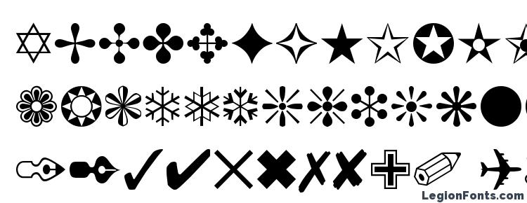 glyphs Itcza1 font, сharacters Itcza1 font, symbols Itcza1 font, character map Itcza1 font, preview Itcza1 font, abc Itcza1 font, Itcza1 font