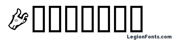 Шрифт Ivanbats