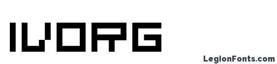 Ivorg Font