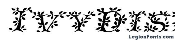 IvyDisplayCaps Italic Font, Wedding Fonts
