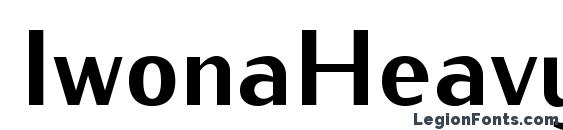IwonaHeavy Regular font, free IwonaHeavy Regular font, preview IwonaHeavy Regular font