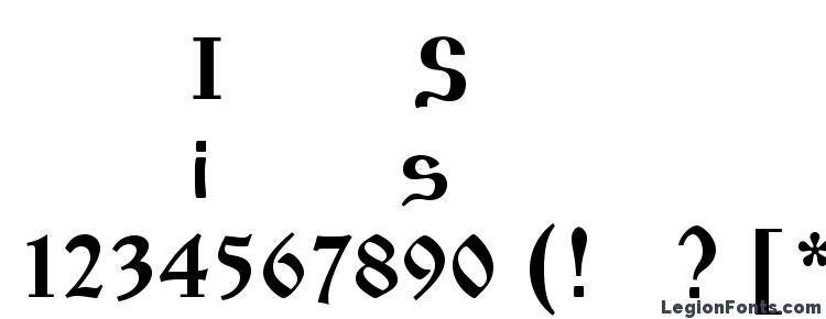 глифы шрифта Izhitsaos, символы шрифта Izhitsaos, символьная карта шрифта Izhitsaos, предварительный просмотр шрифта Izhitsaos, алфавит шрифта Izhitsaos, шрифт Izhitsaos