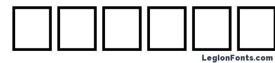 Jacobi regular Font