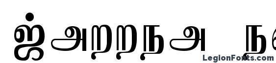 Jaffna normal Font, Cursive Fonts