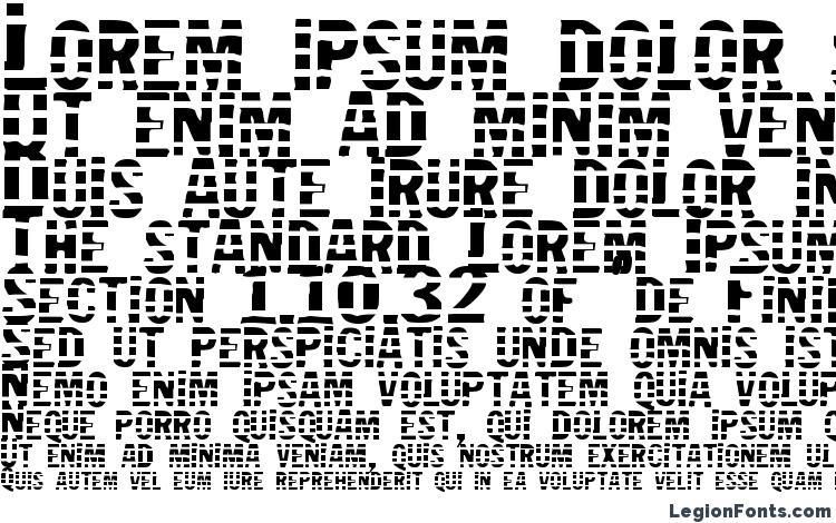 specimens Jailbird font, sample Jailbird font, an example of writing Jailbird font, review Jailbird font, preview Jailbird font, Jailbird font