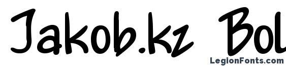 Jakob.kz Bold font, free Jakob.kz Bold font, preview Jakob.kz Bold font