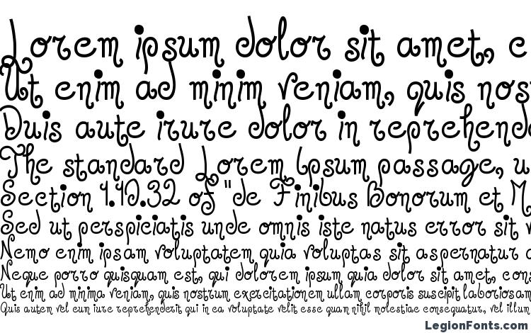 specimens Jandles Regular font, sample Jandles Regular font, an example of writing Jandles Regular font, review Jandles Regular font, preview Jandles Regular font, Jandles Regular font