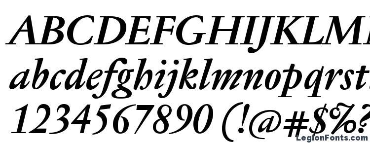 glyphs JannonTextMed BoldItalic font, сharacters JannonTextMed BoldItalic font, symbols JannonTextMed BoldItalic font, character map JannonTextMed BoldItalic font, preview JannonTextMed BoldItalic font, abc JannonTextMed BoldItalic font, JannonTextMed BoldItalic font