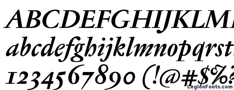 glyphs JannonTextMedOSF BoldItalic font, сharacters JannonTextMedOSF BoldItalic font, symbols JannonTextMedOSF BoldItalic font, character map JannonTextMedOSF BoldItalic font, preview JannonTextMedOSF BoldItalic font, abc JannonTextMedOSF BoldItalic font, JannonTextMedOSF BoldItalic font