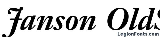 Janson OldStyle SSi Bold Font