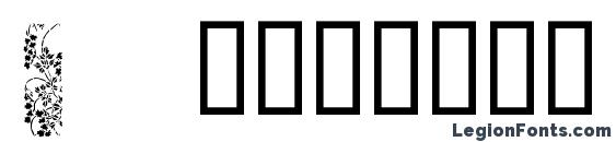 Japanese borders font, free Japanese borders font, preview Japanese borders font
