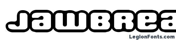 Шрифт Jawbreaker OL1 BRK