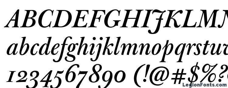 глифы шрифта JBaskervilleMed Italic, символы шрифта JBaskervilleMed Italic, символьная карта шрифта JBaskervilleMed Italic, предварительный просмотр шрифта JBaskervilleMed Italic, алфавит шрифта JBaskervilleMed Italic, шрифт JBaskervilleMed Italic