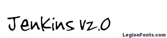 Jenkins v2.0 Font